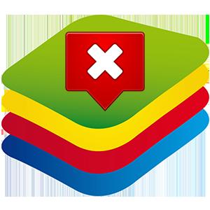 Ошибка в BlueStacks – последняя версия уже установлена